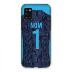 Coque Pour Samsung Galaxy A31 Personnalisee Maillot Football Olympique Marseille Exterieur