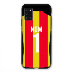 Coque Pour Samsung Galaxy A31 Personnalisee Maillot Football RC Lens