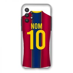 Coque Pour Samsung Galaxy A32 Personnalisee Maillot Football FC Barcelone
