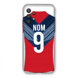Coque Pour Samsung Galaxy A32 Personnalisee Maillot Football LOSC Lille