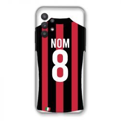 Coque Pour Samsung Galaxy A32 Personnalisee Maillot Football Milan AC