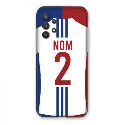 Coque Pour Samsung Galaxy A32 Personnalisee Maillot Football Olympique Lyonnais Domicile