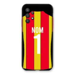 Coque Pour Samsung Galaxy A32 Personnalisee Maillot Football RC Lens