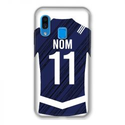 Coque Pour Samsung Galaxy A40 Personnalisee Maillot Footbal Girondins Bordeaux