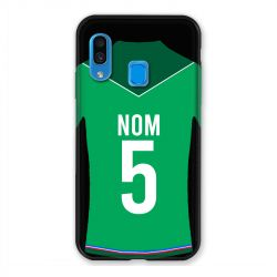 Coque Pour Samsung Galaxy A40 Personnalisee Maillot Football AS Saint Etienne