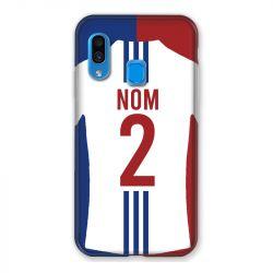 Coque Pour Samsung Galaxy A40 Personnalisee Maillot Football Olympique Lyonnais Domicile