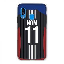 Coque Pour Samsung Galaxy A40 Personnalisee Maillot Football Olympique Lyonnais Exterieur