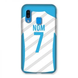 Coque Pour Samsung Galaxy A40 Personnalisee Maillot Football Olympique Marseille Domicile