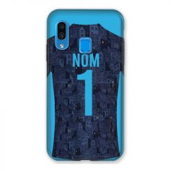 Coque Pour Samsung Galaxy A40 Personnalisee Maillot Football Olympique Marseille Exterieur