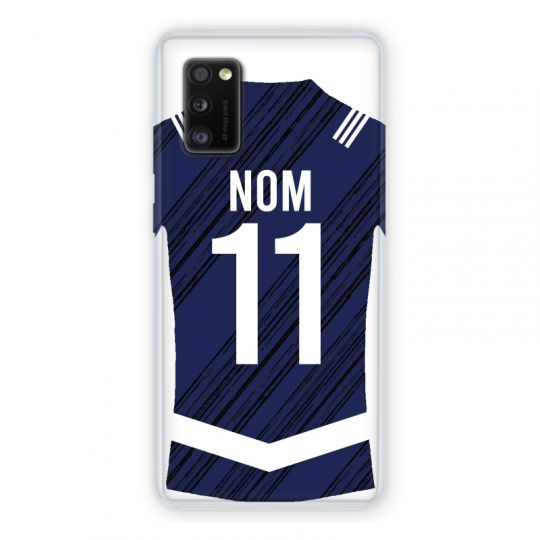 Coque Pour Samsung Galaxy A41 Personnalisee Maillot Footbal Girondins Bordeaux