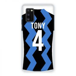 Coque Pour Samsung Galaxy A41 Personnalisee Maillot Football FC Inter Milan