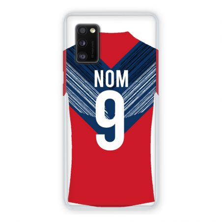 Coque Pour Samsung Galaxy A41 Personnalisee Maillot Football LOSC Lille