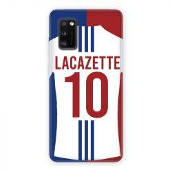 Coque Pour Samsung Galaxy A41 Personnalisee Maillot Football Olympique Lyonnais Domicile