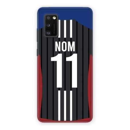 Coque Pour Samsung Galaxy A41 Personnalisee Maillot Football Olympique Lyonnais Exterieur