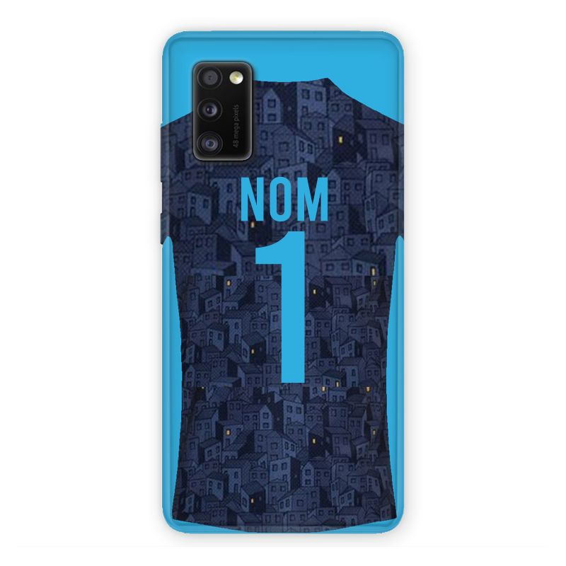 Coque Pour Samsung Galaxy A41 Personnalisee Maillot Football Olympique Marseille Exterieur