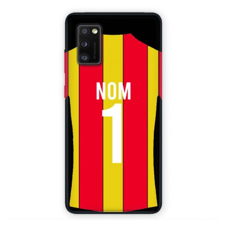 Coque Pour Samsung Galaxy A41 Personnalisee Maillot Football RC Lens