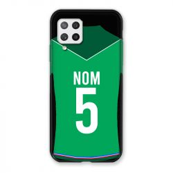 Coque Pour Samsung Galaxy A42 Personnalisee Maillot Football AS Saint Etienne