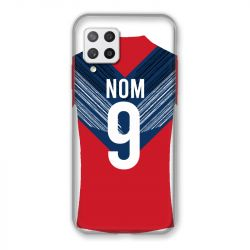 Coque Pour Samsung Galaxy A42 Personnalisee Maillot Football LOSC Lille