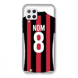 Coque Pour Samsung Galaxy A42 Personnalisee Maillot Football Milan AC