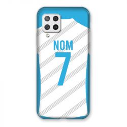 Coque Pour Samsung Galaxy A42 Personnalisee Maillot Football Olympique Marseille Domicile