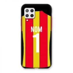 Coque Pour Samsung Galaxy A42 Personnalisee Maillot Football RC Lens