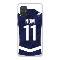 Coque Pour Samsung Galaxy A51 4G Personnalisee Maillot Footbal Girondins Bordeaux