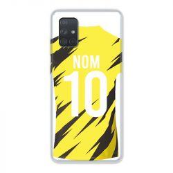 Coque Pour Samsung Galaxy A51 4G Personnalisee Maillot Football Borussia Dortmund