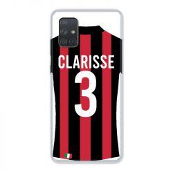 Coque Pour Samsung Galaxy A51 4G Personnalisee Maillot Football Milan AC