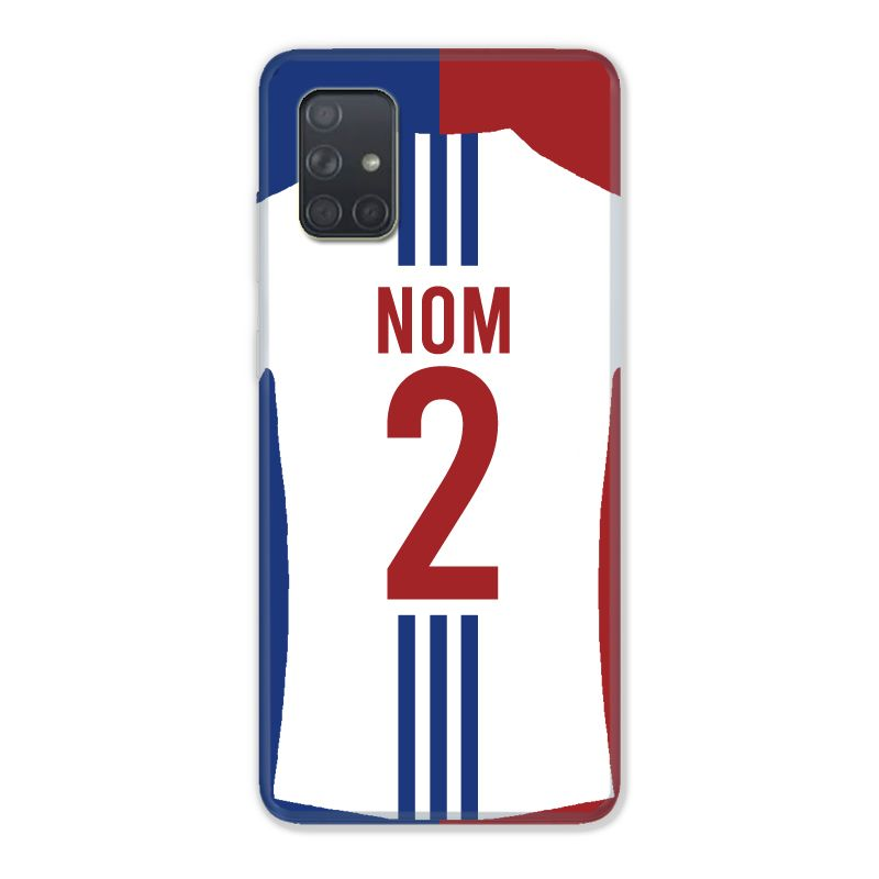 Coque Pour Samsung Galaxy A51 4G Personnalisee Maillot Football Olympique Lyonnais Domicile