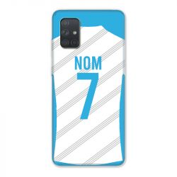 Coque Pour Samsung Galaxy A51 4G Personnalisee Maillot Football Olympique Marseille Domicile