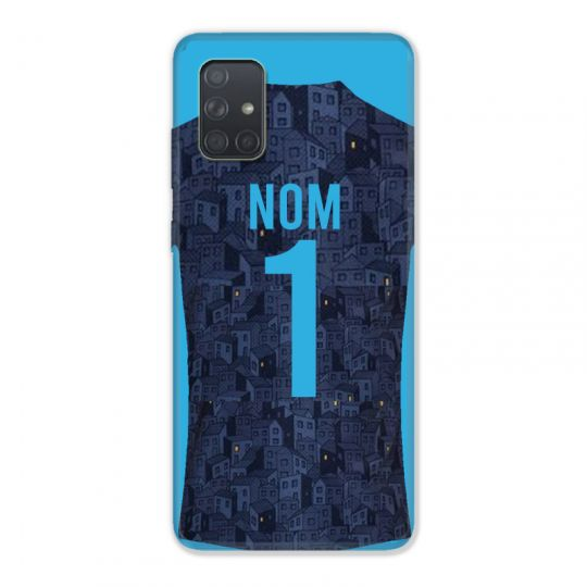 Coque Pour Samsung Galaxy A51 4G Personnalisee Maillot Football Olympique Marseille Exterieur