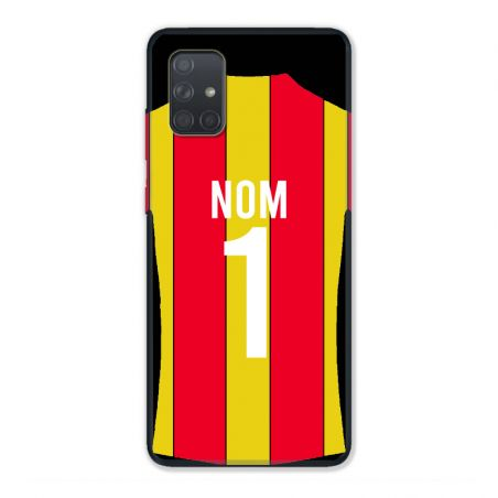 Coque Pour Samsung Galaxy A51 4G Personnalisee Maillot Football RC Lens