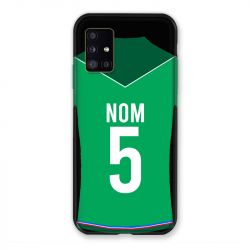 Coque Pour Samsung Galaxy A51 5G Personnalisee Maillot Football AS Saint Etienne