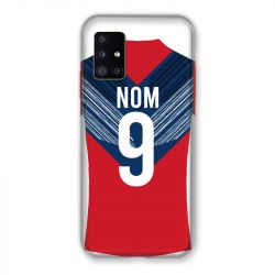 Coque Pour Samsung Galaxy A51 5G Personnalisee Maillot Football LOSC Lille