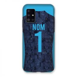 Coque Pour Samsung Galaxy A51 5G Personnalisee Maillot Football Olympique Marseille Exterieur