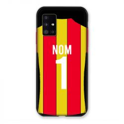 Coque Pour Samsung Galaxy A51 5G Personnalisee Maillot Football RC Lens