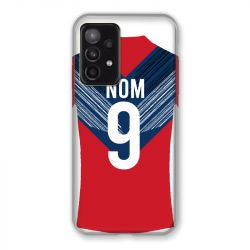 Coque Pour Samsung Galaxy A52 5G Personnalisee Maillot Football LOSC Lille