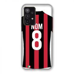Coque Pour Samsung Galaxy A52 5G Personnalisee Maillot Football Milan AC