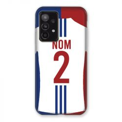 Coque Pour Samsung Galaxy A52 5G Personnalisee Maillot Football Olympique Lyonnais Domicile