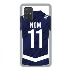 Coque Pour Samsung Galaxy A71 Personnalisee Maillot Footbal Girondins Bordeaux