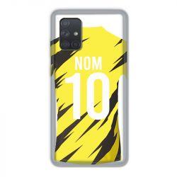 Coque Pour Samsung Galaxy A71 Personnalisee Maillot Football Borussia Dortmund