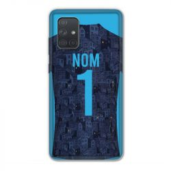 Coque Pour Samsung Galaxy A71 Personnalisee Maillot Football Olympique Marseille Exterieur