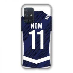 Coque Pour Samsung Galaxy A72 Personnalisee Maillot Footbal Girondins Bordeaux