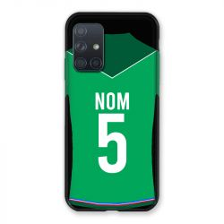 Coque Pour Samsung Galaxy A72 Personnalisee Maillot Football AS Saint Etienne