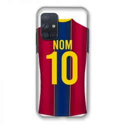 Coque Pour Samsung Galaxy A72 Personnalisee Maillot Football FC Barcelone