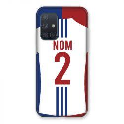 Coque Pour Samsung Galaxy A72 Personnalisee Maillot Football Olympique Lyonnais Domicile