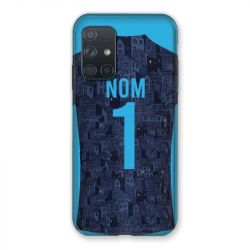 Coque Pour Samsung Galaxy A72 Personnalisee Maillot Football Olympique Marseille Exterieur