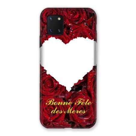 Coque Pour Samsung Galaxy Note 10 Lite Personnalisee Fete Des Meres Roses Rouges