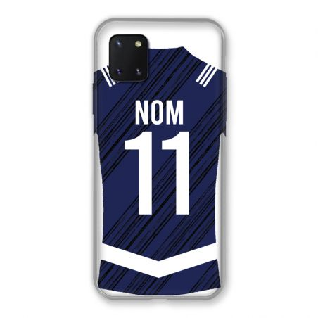 Coque Pour Samsung Galaxy Note 10 Lite Personnalisee Maillot Footbal Girondins Bordeaux