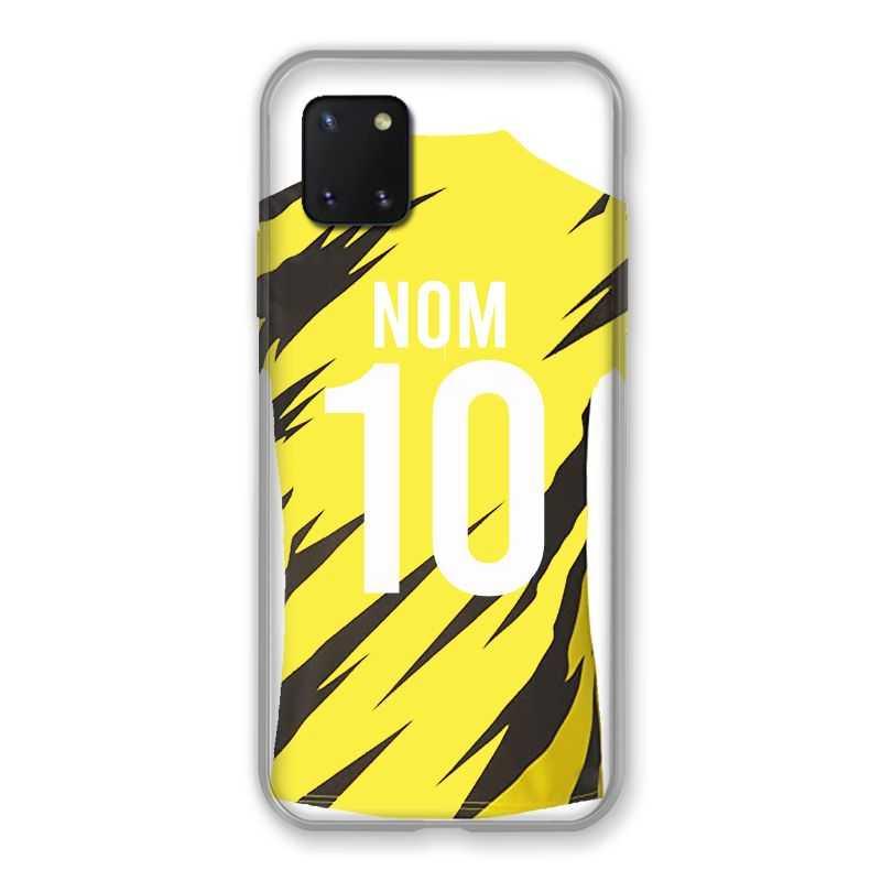 Coque Pour Samsung Galaxy Note 10 Lite Personnalisee Maillot Football Borussia Dortmund